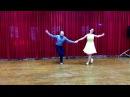 SNC Show 12. Лёша Слетов и Алёна Новикова. Линди Хоп. Cole Slow.