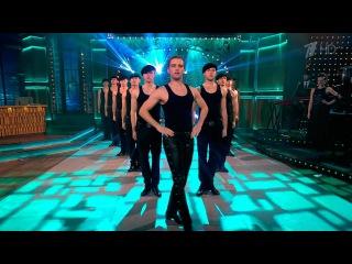 Вечерний Ургант. Lord of the Dance — «Dangerous Games».(19.04.2016)