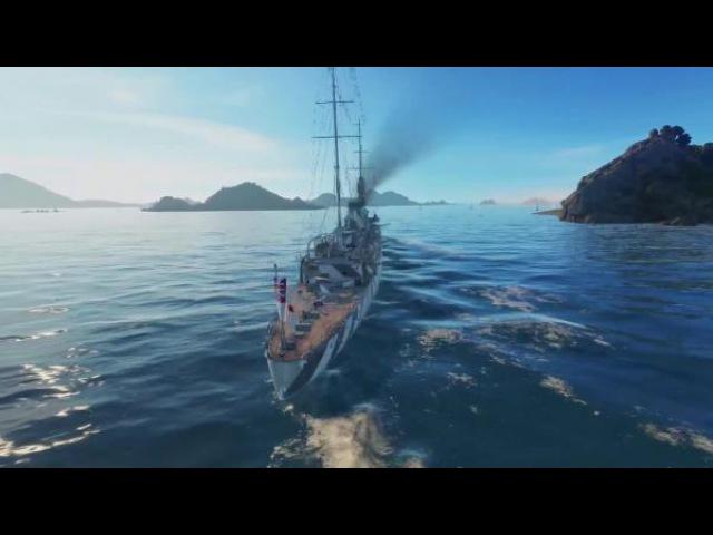 World of warships Предпросмотр Британская ветка крейсеров gameplay обзор Z1ooo World of Warships