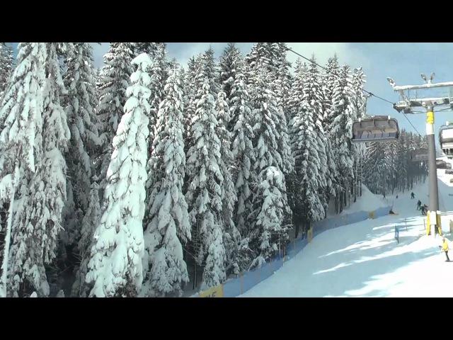 Zima, słońce, śnieg i narty w HD - Zakopane, Polska