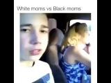 White moms vs Black moms