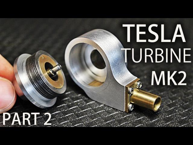 Micro Tesla Turbine MK2 | Part2 | Housing, End Caps, Nozzle