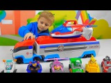 Щенячий Патруль и Патрулевозы - ВИДЕО ДЛЯ РЕБЁНКА. Paw Patrol with Air Patroller Plane