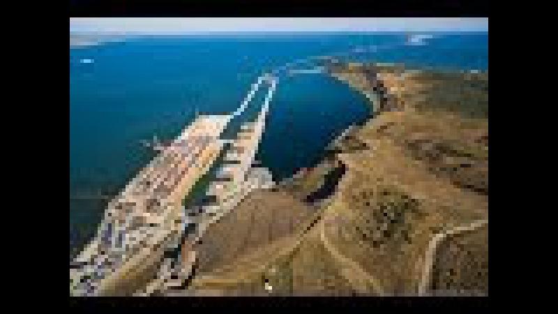 Крымский Мост, через Керченский пролив, работа вблизи ОПОРЫ НА ВОДЕ