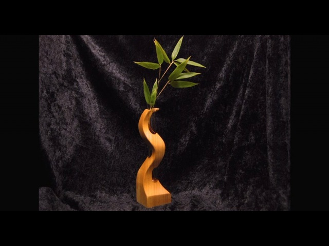 Small Wood Vase on the Bandsaw How-To