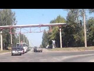 Безпредельщик на 21099 - Снежинск 16 августа 2016