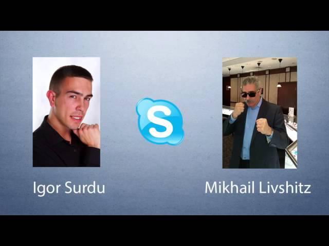 Интервью с долларовым миллионером Mikhail Livshitz и Igor Surdu