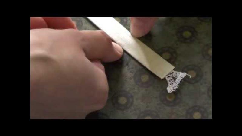 Делаем шлёвки с помощью паутинки