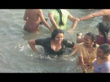 Indian desi hot girls, women enjoy at seabeach - Part 3
