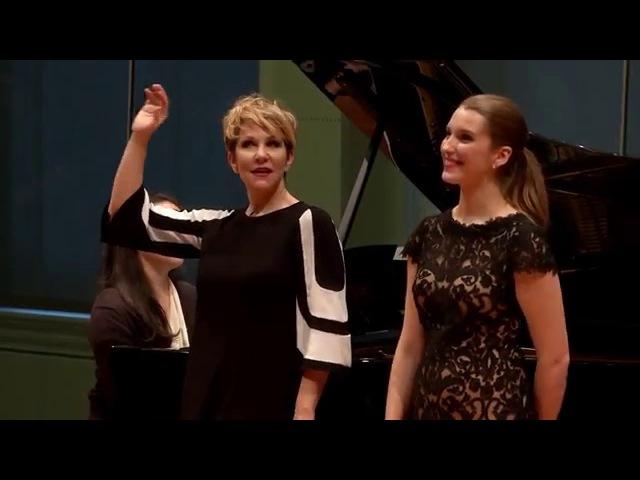 "Joyce DiDonato Master Class 2015 Handel's ""Ombra mai fu"" from Serse"