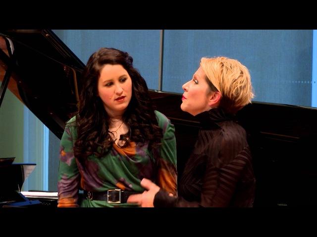 """Joyce DiDonato Master Class 2015 Donizetti's """"Regnava nel silenzio"""" from Lucia di Lammermoor"""