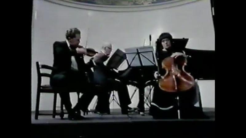 Richter, Kagan Gutman play Shostakovich Piano Trio no. 2 - video 1984