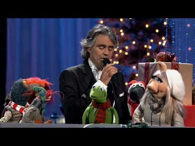 Andrea Bocelli David Foster Jingle Bells featuring The Muppets
