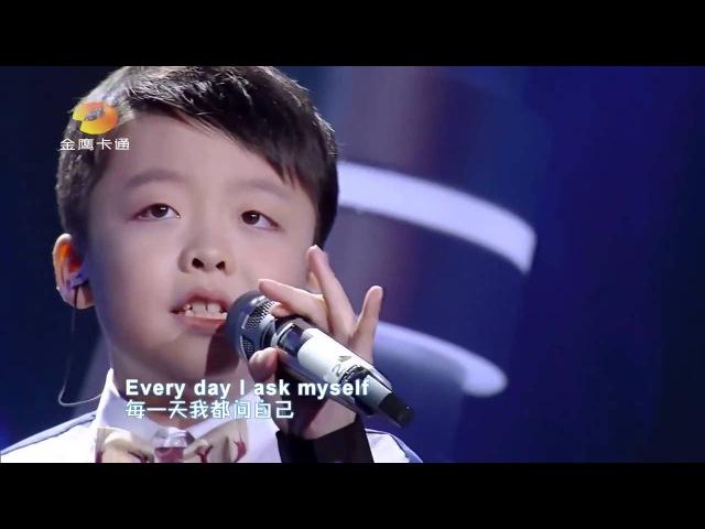 Tell Me Why - Jeffrey li (The Voice Kid Chinese)