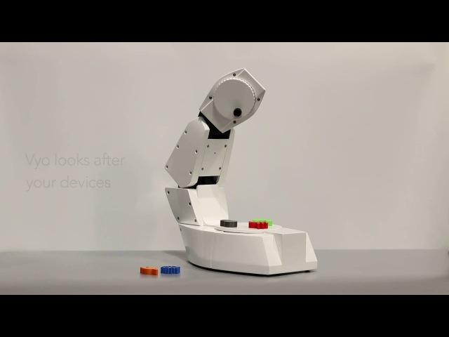 Vyo - Social Robot for the Smart Home [IDC : Cornell : SKT]