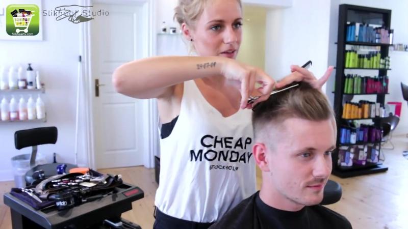 Ciro Immobile Inspired Hairstyle _ Mens Football Player Haircut _ Tutorial by Slikhaar TV