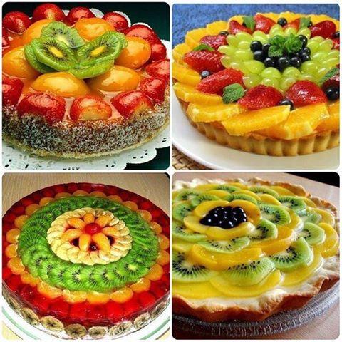 Вкусные рецепты фруктового пирога с