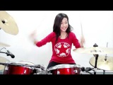 MC Hammer - U Can't Touch This - Drum Cover by Nur Amira Syahira