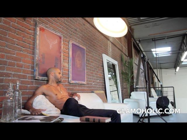 Ricky Whittle - Glamoholic Magazine Photo Shoot