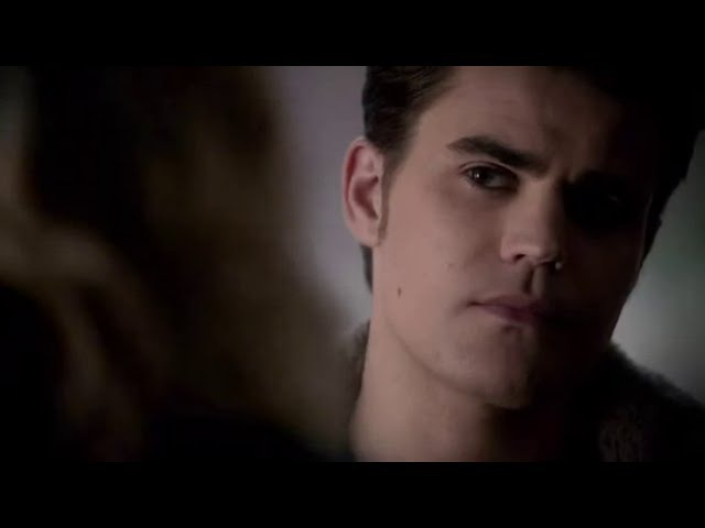 Vampire Diaries 4x15 Stefan/Caroline Tell your Mum to get Doctor Fell over here