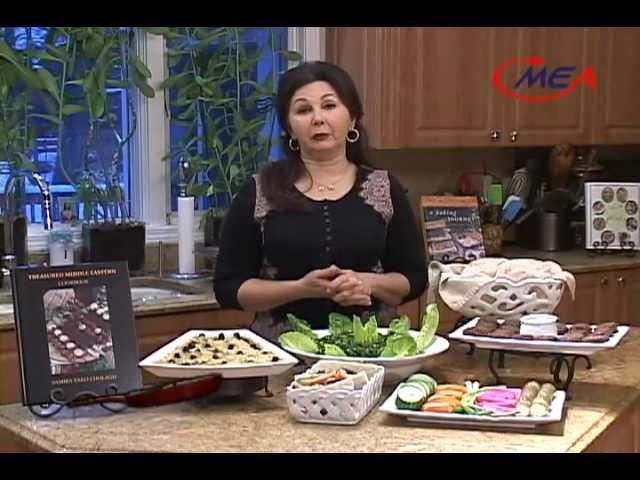 Samira's Kitchen Episode 90 Falafel Humus Taboleh Pita Bread