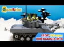 Review BRICKMANIA M18 HELLCAT - AMERICAN TANK DESTROYER - PREMIUM BLACK BOX KIT stop motion bonus