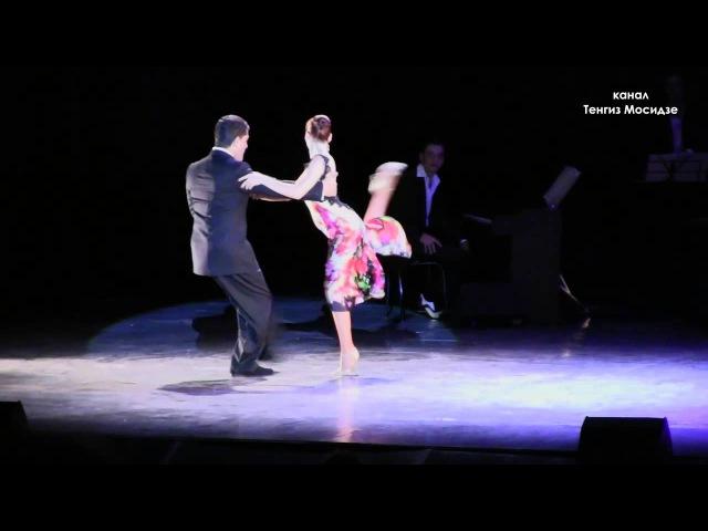 Sabrina and Ruben Veliz. Milonga Reliquias portenas. Аргентинское танго. Сабрина и Рубен Велис.