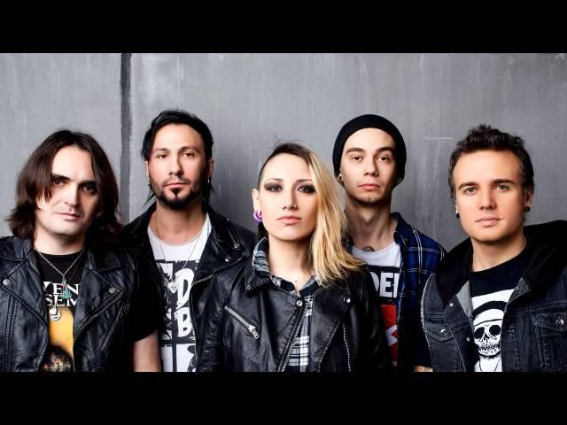 Louna- Сердце из стали Russian rock band (2016)