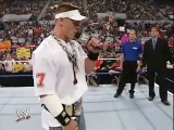 John Cena vs Booker T vs Rob Van Dam vs Rene Dupree US Championship (The Great American Bash 2004)