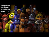 (SFM FNAF) Five Nights at Freddy's 4 SONG by TryHardNinja