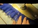 ✄✄Как заложить складки на ткани без разметки✄✄