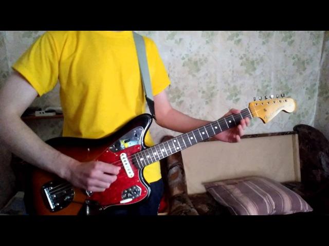 Eddie The Showmen Lanky Bones lead guitar cover