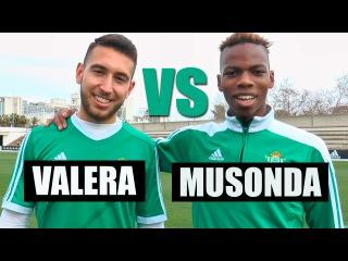 Crossbar Challenge | Musonda y Varela | Real Betis Balompié
