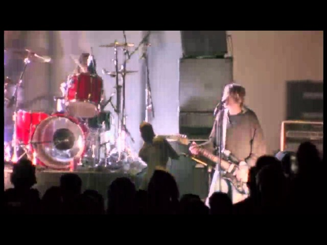 Nirvana Rape Me live at the Paramount WITH SOLO