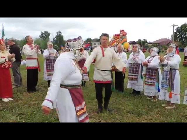 Чувашский танец. д. Сюндюково. Мариинский Посад. 2014