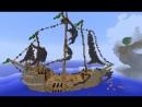 Прохождение карт в Minecraft: Остров доблести. Сокровище пиратов. 1 серия