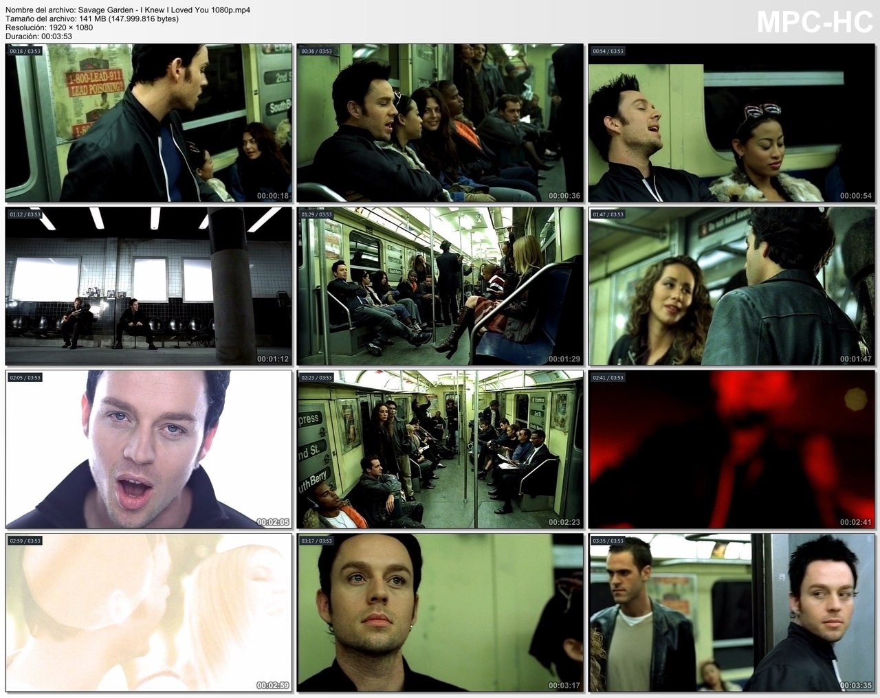 Savage garden i knew i loved you 1080p sharemania us for I knew i loved you by savage garden