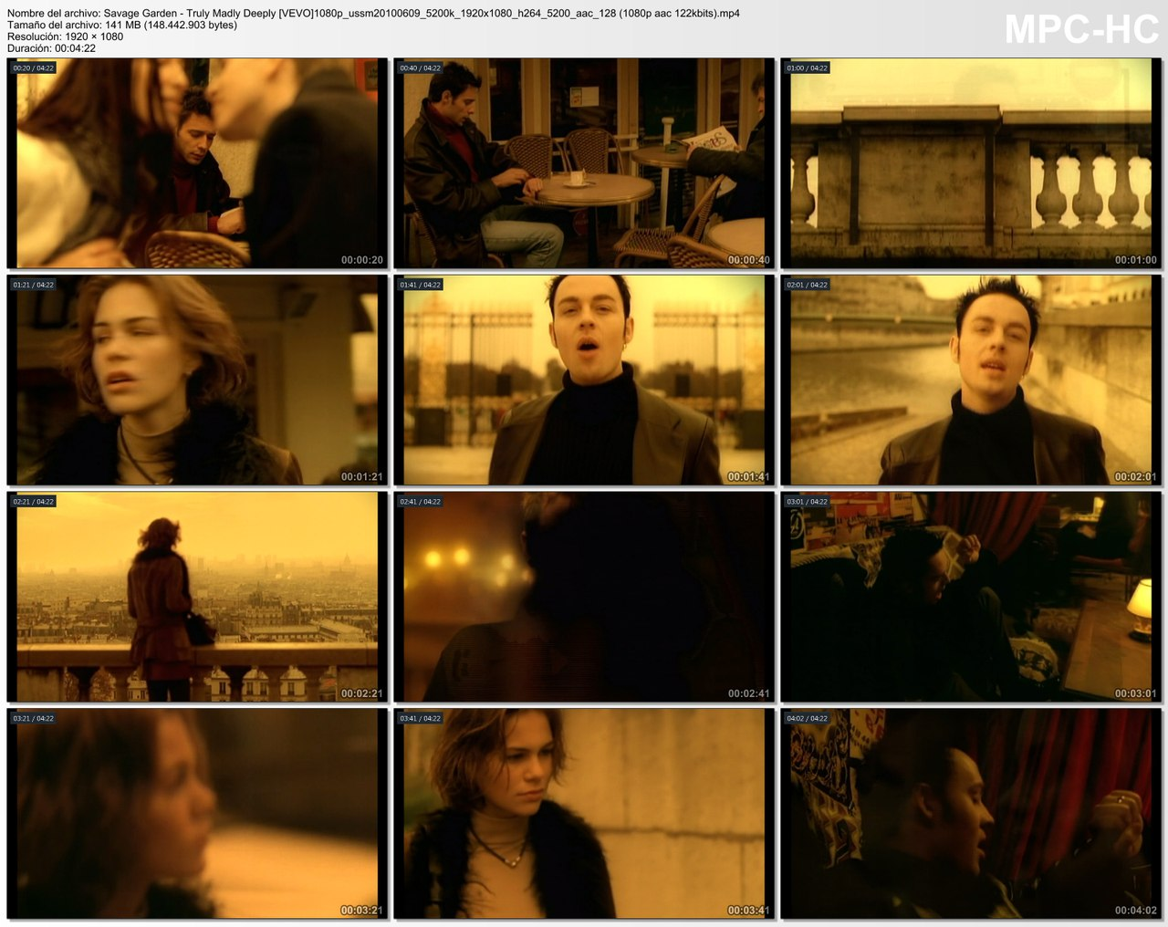 WEB-RiP - Savage Garden - Truly Madly Deeply [VEVO] 1080p ...