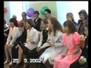 Выпускной 4А класс школа № 3 25.05.2002 год ЧАСТЬ 1