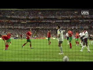 Португалия 1-1 Англия (5-6 пен)   ЕВРО-2004   Обзор матча HD