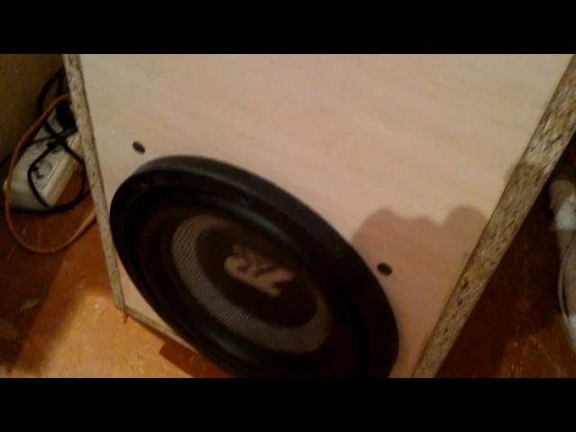 Power acoustik cs-10-600 в оформлении ЧВ