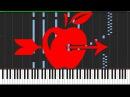 William Tell Overture - Gioachino Rossini [Piano Tutorial] (Synthesia)