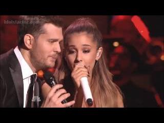 Michael Buble Ariana Grande