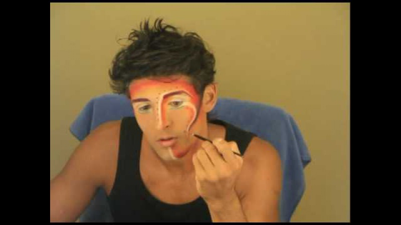 Cirque du Soleil Makeup - ZAIA - The Shaman