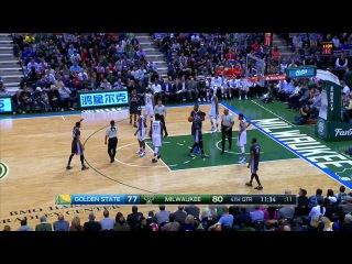 NBA 2015-16. Golden State Warriors - Milwaukee Bucks . 2 h | НБА 12 декабря 2015