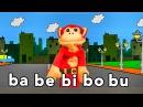 Sílabas ba be bi bo bu - El Mono Sílabo - Videos Infantiles - Educación para Niños #