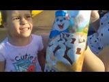 гуляем в парке едим мороженое прыгаем на батуте #AngryBirds