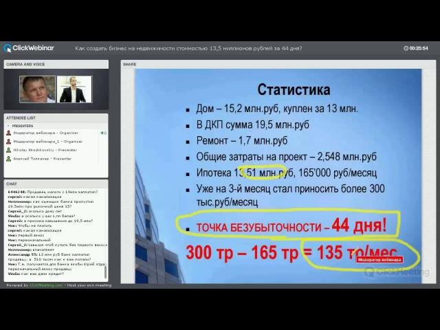 Кейс Юрия Медушенко по созданию доходной недвижимости в России Как создать бизнес на недвижимости ст