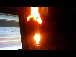 ЯRILO Sunlite2 + EasyShow = Огненное шоу
