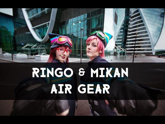 Ringo Mikan Noyamano - Air Gear cosplay